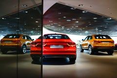 Carros para a venda Imagens de Stock Royalty Free