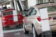 Carros para a venda Imagem de Stock