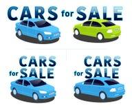 Carros para a venda Foto de Stock
