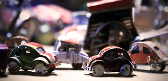 Carros pequenos Fotos de Stock Royalty Free