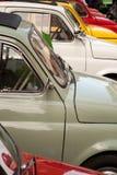 Carros pequenos clássicos Fotografia de Stock