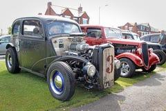 Carros personalizados vintage do baixio de ingleses Fotos de Stock