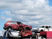 Carros quebrados Foto de Stock