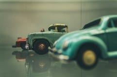 Carros retros do brinquedo Fotografia de Stock Royalty Free