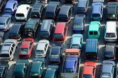 Carros usados Fotografia de Stock Royalty Free