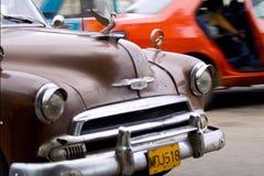 Carros velhos Fotografia de Stock