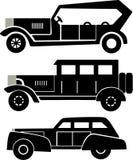 Carros velhos Imagem de Stock Royalty Free