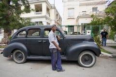 Carros velhos cubanos Imagem de Stock