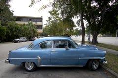 Carros velhos cubanos Foto de Stock Royalty Free