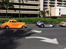 Carros velhos de Timey Foto de Stock Royalty Free