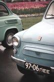 Carros velhos de Zaporozhets foto de stock royalty free