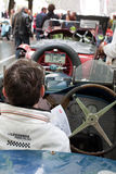 Carros velhos do tempo em Mille Miglia 2013 Foto de Stock Royalty Free