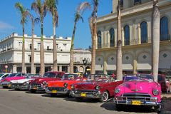 Carros velhos extravagantes Foto de Stock