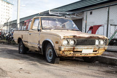 Carros velhos para a sucata. Fotos de Stock