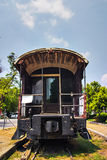 Carros viejos del tren Fotos de archivo libres de regalías