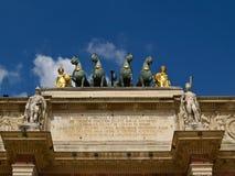 Carrossel Arc de Triomphe imagem de stock royalty free