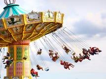 Carrossel da cadeira Fotos de Stock Royalty Free