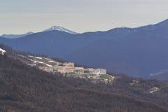 Carrossel da montanha em uma altura de 960 medidores Fotos de Stock