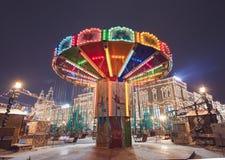 Carrossel da roda de Ferris Imagem de Stock