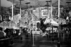 Carrossel de Griffith Park, Los Angeles imagens de stock