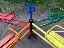 Carrossel em cores brilhantes Imagem de Stock