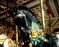 Carrossel Horse Imagens de Stock Royalty Free