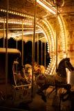 Carrossel para crianças fotografia de stock royalty free