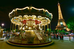 Carrossel - Paris, França Foto de Stock