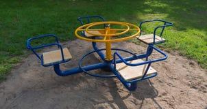 carrossel vazio das crianças Imagem de Stock