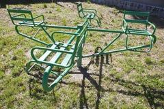 Carrossel verde Foto de Stock Royalty Free