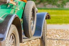 Carrosserie van uitstekende auto stock afbeelding