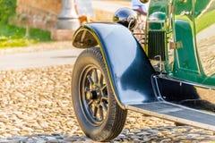 Carrosserie van uitstekende auto royalty-vrije stock afbeeldingen