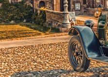 Carrosserie van uitstekende auto royalty-vrije stock foto's