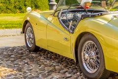 Carrosserie van uitstekende sportwagen royalty-vrije stock foto's
