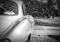 Carrosserie van uitstekende sportwagen royalty-vrije stock afbeeldingen