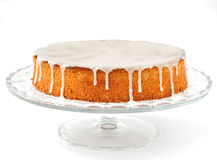 Carrot and Almond Cake Royalty Free Stock Photo