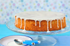 Carrot and Almond Cake Royalty Free Stock Photos