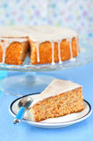 Carrot and Almond Cake Stock Image