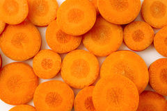 Carrot background Royalty Free Stock Photos
