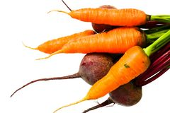 Carrot and beet Stock Photo