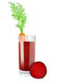 Carrot beetroot juice Royalty Free Stock Image