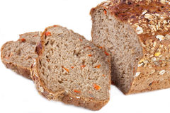 Carrot bread Stock Photography