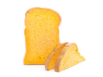 Carrot  bread and sandwich sliced recipe Stock Photos