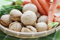 Carrot buns Royalty Free Stock Photos
