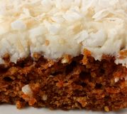 Carrot Cake Stock Photography
