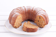 Carrot cake Royalty Free Stock Images