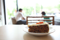 Carrot cake Royalty Free Stock Photo