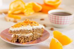 Carrot cake Royalty Free Stock Photography