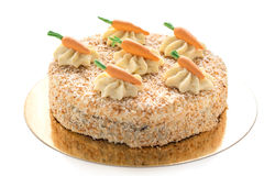 Carrot cake. Stock Images