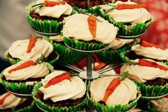 Carrot cake heaven Royalty Free Stock Images